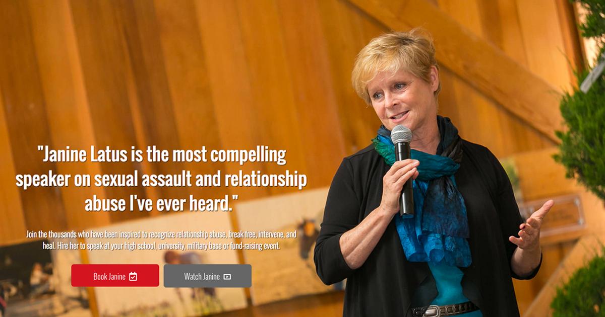 Janine Latus - writer, speaker, teacher